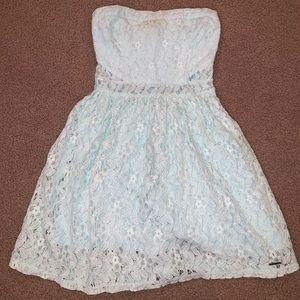 Abercrombie Kids Girls Strapless Dress